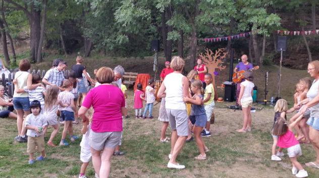 concert bal enfants à Monétier les bains