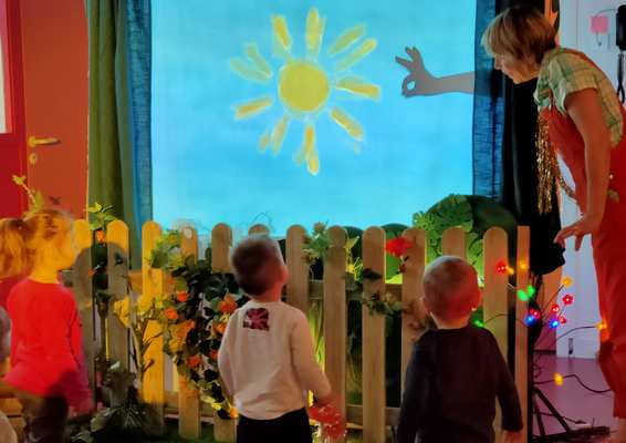 enfants et soleil